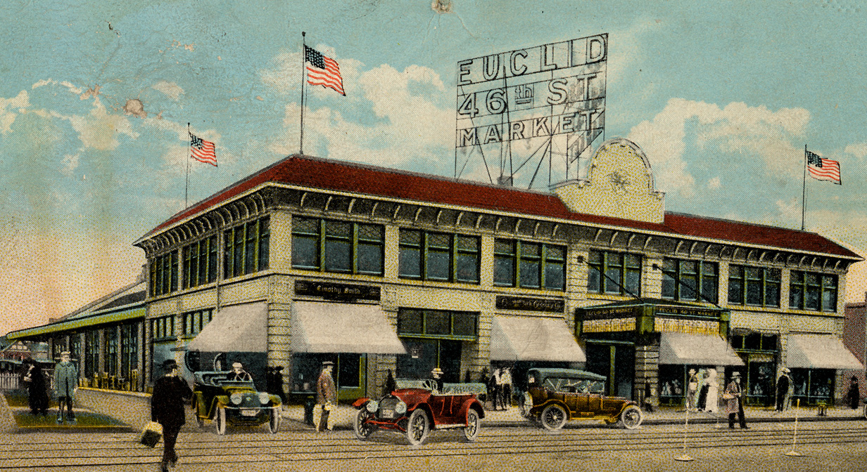 Postcard for the Euclid East 46th Street Market